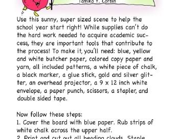 teach September: School Supplies