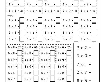 teach Multiply to Nine