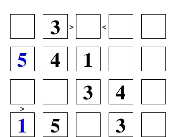 >Greater> <Less< Than Puzzle worksheet