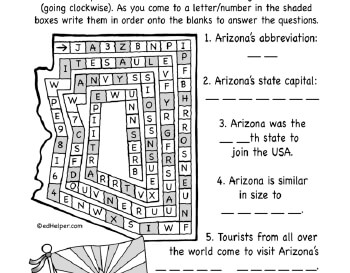 teach February: State Puzzles