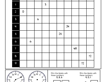 Multiplication Practice teaching resource