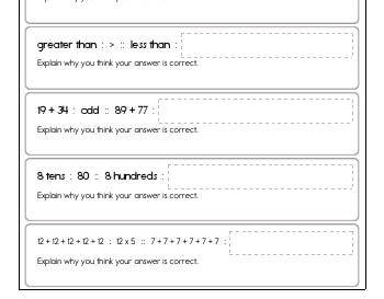 teach Math Analogies