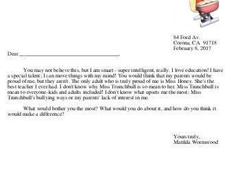 teach Write a Letter