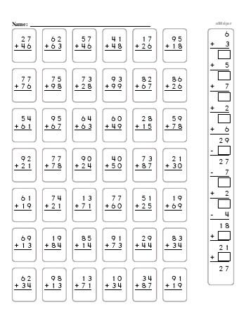 teach 2-Digit Addition Book