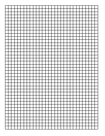 Standard Graph Paper - One Quadrant Per Page teaching resource