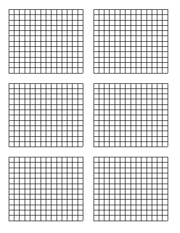 standard graph paper size