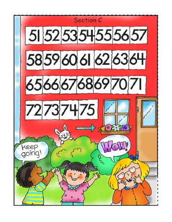 teach Let's Count A Hundred Days Of School Jumbo Chart