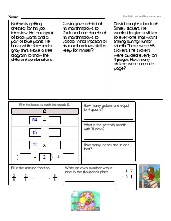 4th grade math book pdf
