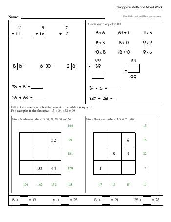 teach Singapore Math - Third Grade Book #2