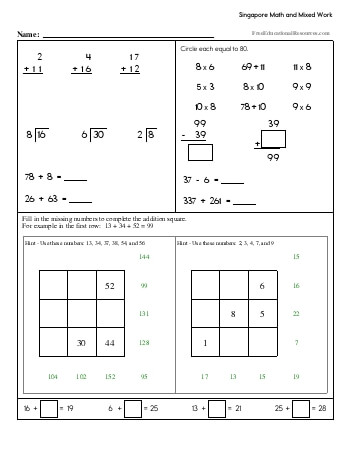 teach Singapore Math - Third Grade Book #2