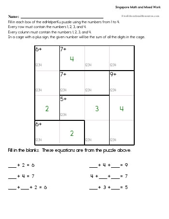teach Singapore Math - Fourth Grade Book #1