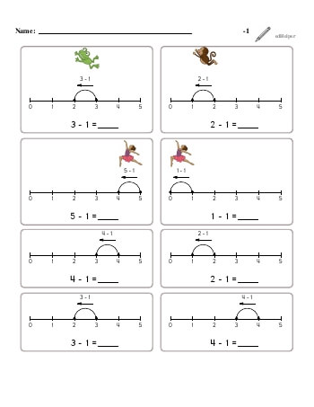 teach Subtracting -1