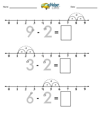 teach Subtracting -2