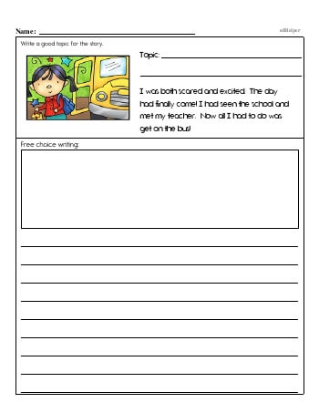 Second Grade Word Problems Resource Book (Week #1) worksheet