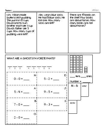 teach First Grade Word Problems Resource Book (Week #8)