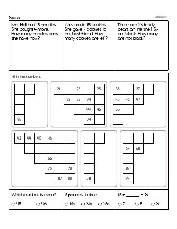 teach Second Grade Word Problems Resource Book (Week #10)
