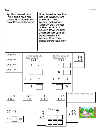 teach Third Grade Word Problems Resource Book (Week #3)