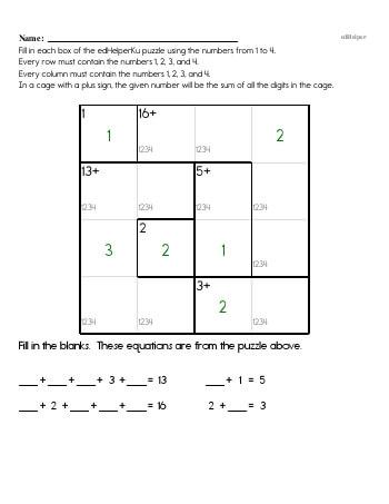 teach Fourth Grade Word Problems Resource Book (Week #4)
