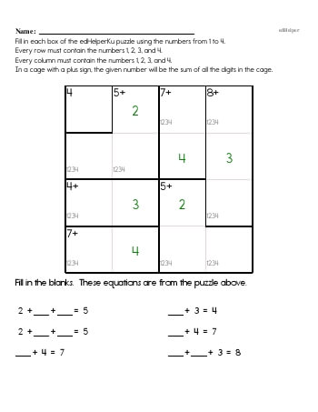 teach Fourth Grade Word Problems Resource Book (Week #9)