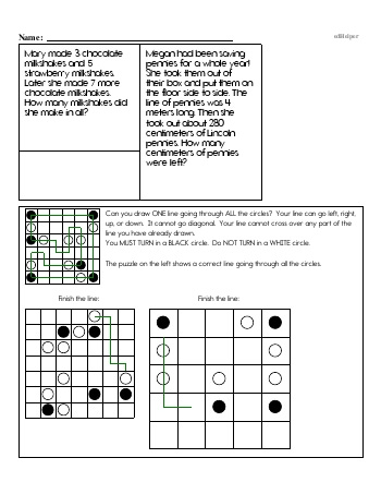 Fifth Grade Word Problems Resource Book (Week #4) teaching resource
