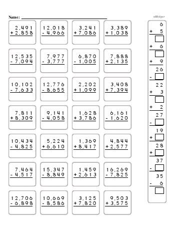 Fifth Grade Word Problems Resource Book (Week #10) worksheet