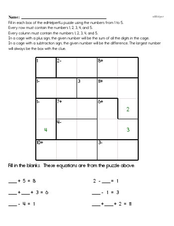 teach Sixth Grade Word Problems Resource Book (Week #1)